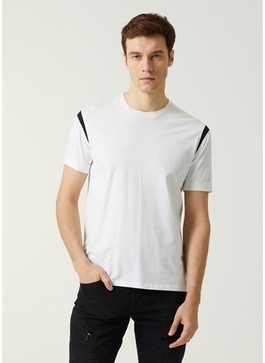 Neil Barrett Neil Barrett   Renk Detaylı T-shirt 101633716 Beyaz
